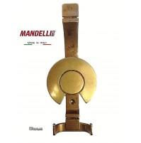 APPENDIABITI A MURO MANDELLI MADE IN ITALY  - SERIE VINTAGE - OTTONE