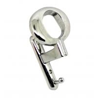 APPENDIABITO A MURO MANDELLI MADE IN ITALY CROMO LUCIDO 2 POSTI SERIE LUSSO