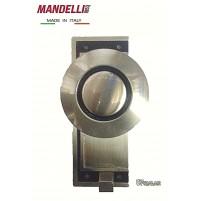 APPENDIABITO A MURO MANDELLI MADE IN ITALY - VINTAGE - ACCIAIO SATINATO