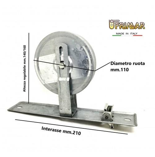 AVVOLGITORE PER TAPPARELLE RUOTA A MOLLA AVVOLGIBILI INT. mm.215 MOLLA MT.12
