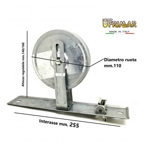 AVVOLGITORE PER TAPPARELLE RUOTA A MOLLA AVVOLGIBILI INT. mm.250 MOLLA MT.12