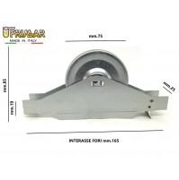 AVVOLGITORE PER TAPPARELLE SEMINCASSO int. mm.155 / mm.165  MT.8 SENZA PLACCA