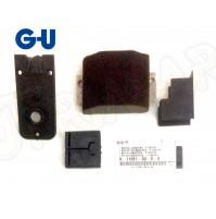 Accessori Alzante Scorrevole G-U Kit K-11051-00-0-0 Tampone Giunzione e 2 guide
