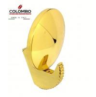 Appendiabiti a muro Portabito Colombo Design CA27 Oro Zecchino design Castiglia