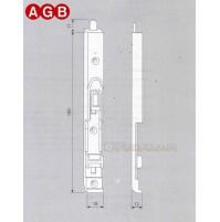CATENACCIO SUPERIORE AGB cod. A400360102 Aria mm.4  ricambio per finestre legno