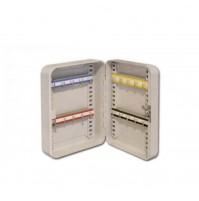 Cassetta portachiavi a muro 20 Ganci appendi chiavi cm.19x25x8 con chiusura