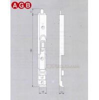 Catenaccio superiore AGB A200360102 Aria 4 ricambio per finestre legno 41201801