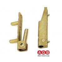 Cerniera AGB anta ribalta A200150701 per infissi PVC LEGNO Kg.80 530-091