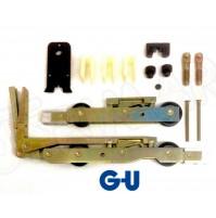 Coppia Carrelli Alzante Scorrevole GU 933 H kit g-u K-121040003 A + accessori