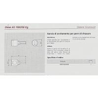 Gancio avvitamento perni di chiusura alzante scorrevole AGB G007460006