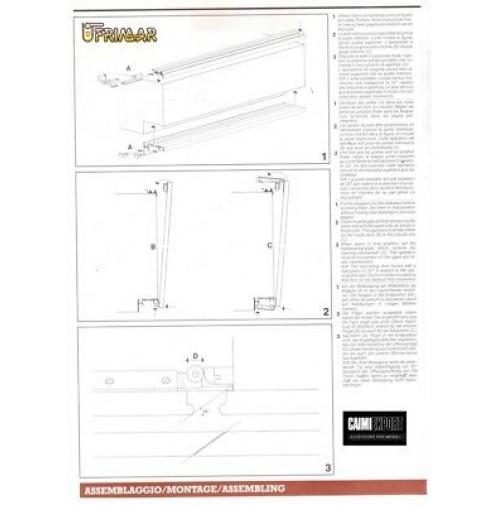 Kit Ante Scorrevoli Complanari.Kit Scorrevole Per Armadi Complanari Magic Caimi Export 2 Ante Cm