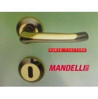 MANIGLIA PER PORTA MANDELLI serie SATU artM21 Varie finiture MADE IN ITALY