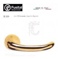 Maniglia Fusital H319 R8 Oro lucido design Vico Magistretti maniglia per porta