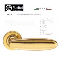 Maniglia Fusital H326 R8 Oro lucido design Antonio Citterio maniglia per porta