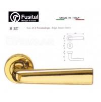 Maniglia Fusital H327 R8 Oro lucido design Antonio Citterio maniglia per porta