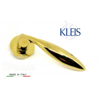 Maniglia KLEIS LIBYA art. 00B1302 Ottone lucido maniglie per porte porte RDS