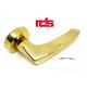 Maniglia RDS ELBA art. 0171 Oro lucido maniglie per porte RDS porte interne