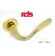 Maniglia RDS SIENA art. 0191 Oro lucido design Mauro Doimo maniglia per porta