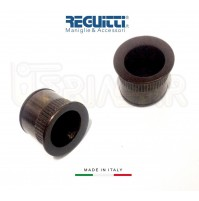 Maniglia trascinamento incasso porte scorrevoli Reguitti 525 Bronzo D.mm.25
