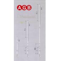 PROLUNGA TOP AGB cod. A20020003 GR3 mm.600 Corsa 16+16 ricambio per finestre