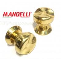 Pomolo Mandelli per porta Art. M44 Oro Gold serie Vintage Made in Italy
