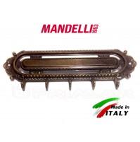 Portachiavi Appendi Chiavi in Ottone bronzato 5 Ganci MANDELLI modello Vintage