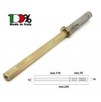 REGGIMENSOLA A SCOMPARSA  mm.12x170 TASSELLO D.14 REGGI MENSOLE RIPIANI LEGNO