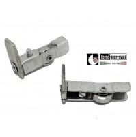 Scorrevole per ante scorrevoli profilo alluminio TERNO art.18 CUSCINETTO ACCIAIO