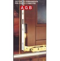 Serratura Alzante Scorrevole AGB G007370202 Altezza Anta mm.1170-1800  GR 2 AF5