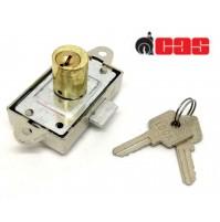 Serratura CAS 223C da applicare Aste Rotanti cilindro H.mm.20 marchio Tecno Lock