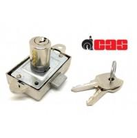 Serratura per armadio CAS 223C Aste Rotanti cilindro H.mm.20 marchio Tecno Lock